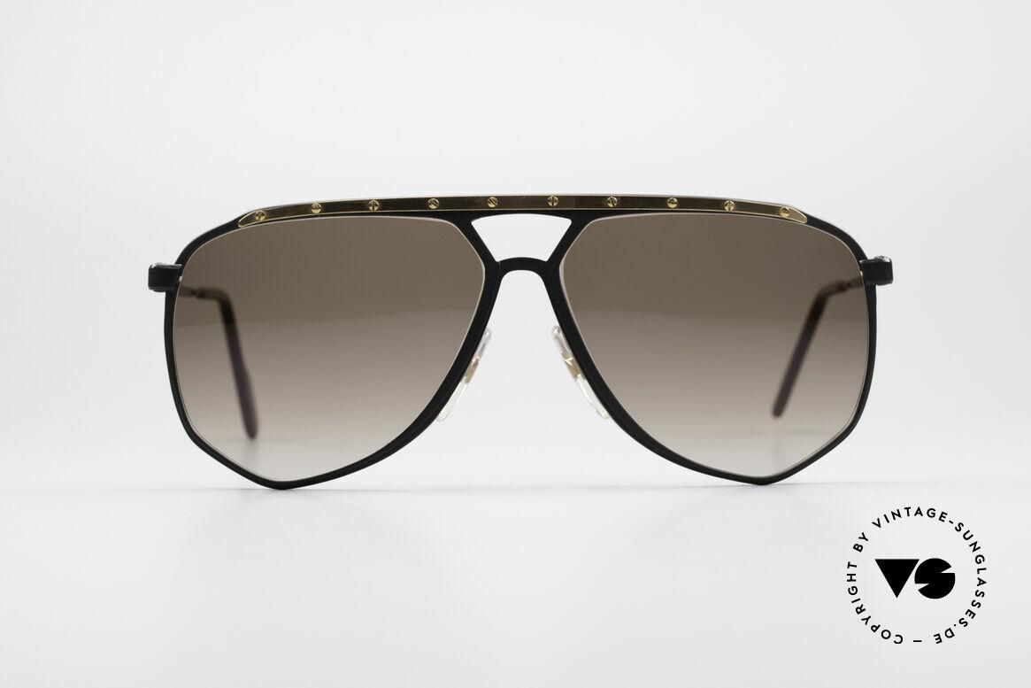 Alpina M1/4 Rare Vintage Sonnenbrille, ebenso handgefertigt; jedoch erst um 1989/1990, Passend für Herren