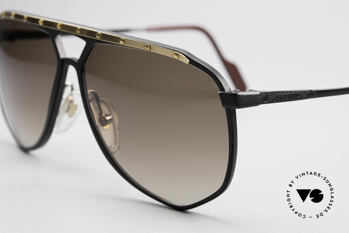 Alpina M1/4 Rare Vintage Sonnenbrille, ungetragen (wie alle unsere Alpina Sonnenbrillen), Passend für Herren