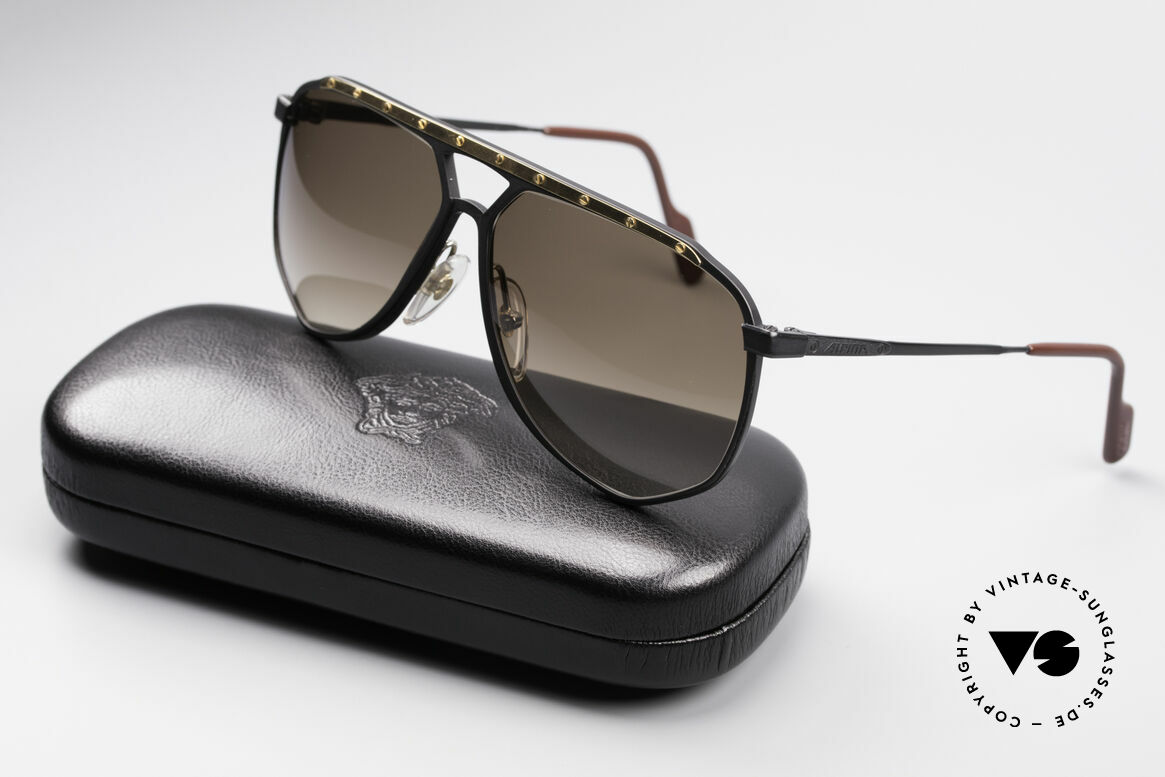 Alpina M1/4 Rare Vintage Sonnenbrille, Größe: large, Passend für Herren
