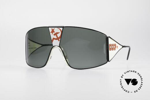 Alpina Talking Glasses Glasnost Gorbatschow Brille Details