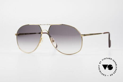 Alpina 704 Herren Piloten Sonnenbrille Details