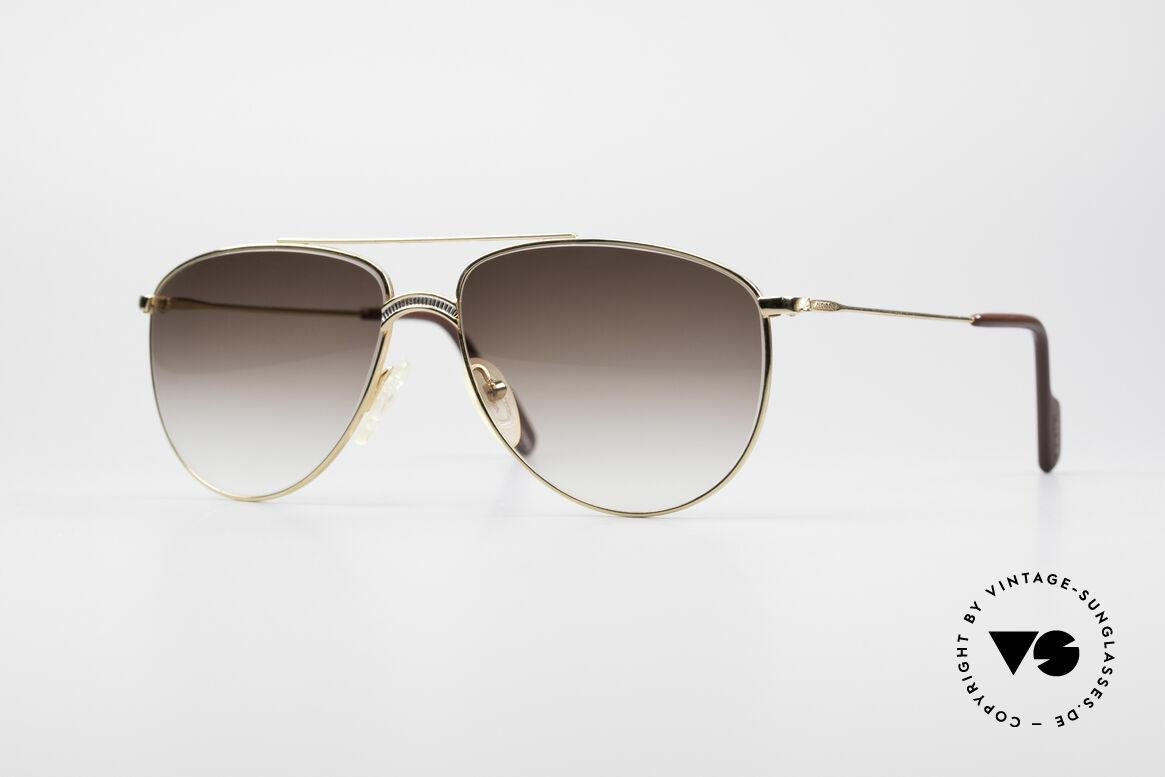 Alpina FM81 West Germany Vintage Brille, klassische vintage Alpina XL Herren-Sonnenbrille, Passend für Herren