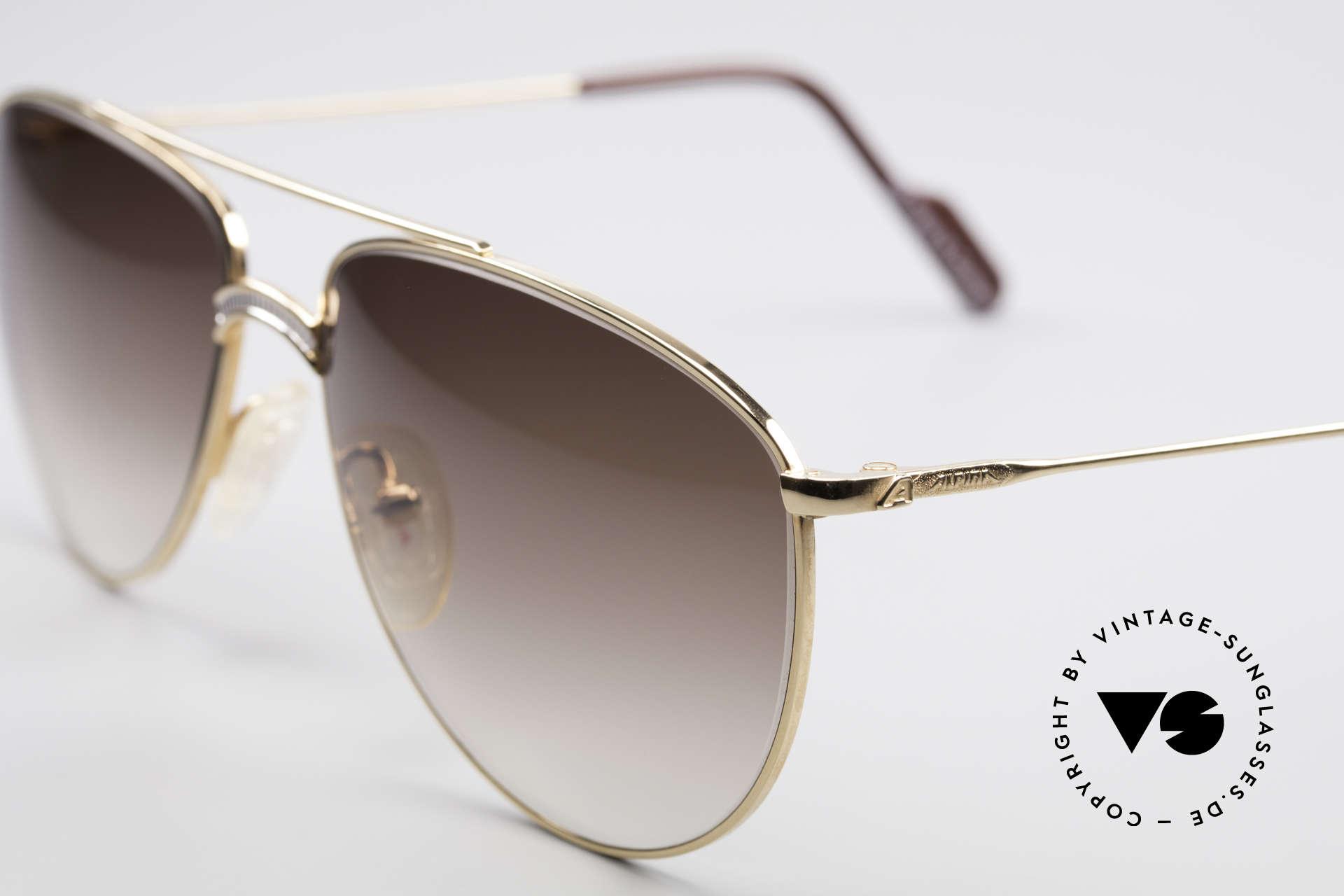 Alpina FM81 West Germany Vintage Brille, ungetragenes Einzelstück aus dem Jahre 1987/1988, Passend für Herren