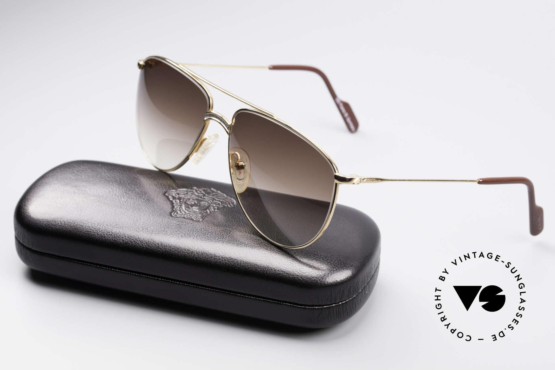 Alpina FM81 West Germany Vintage Brille, Metallfassung ist auch für optische Gläser geeignet, Passend für Herren