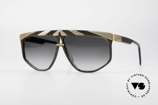 Alpina G82 Vergoldete 80er Sonnenbrille Details