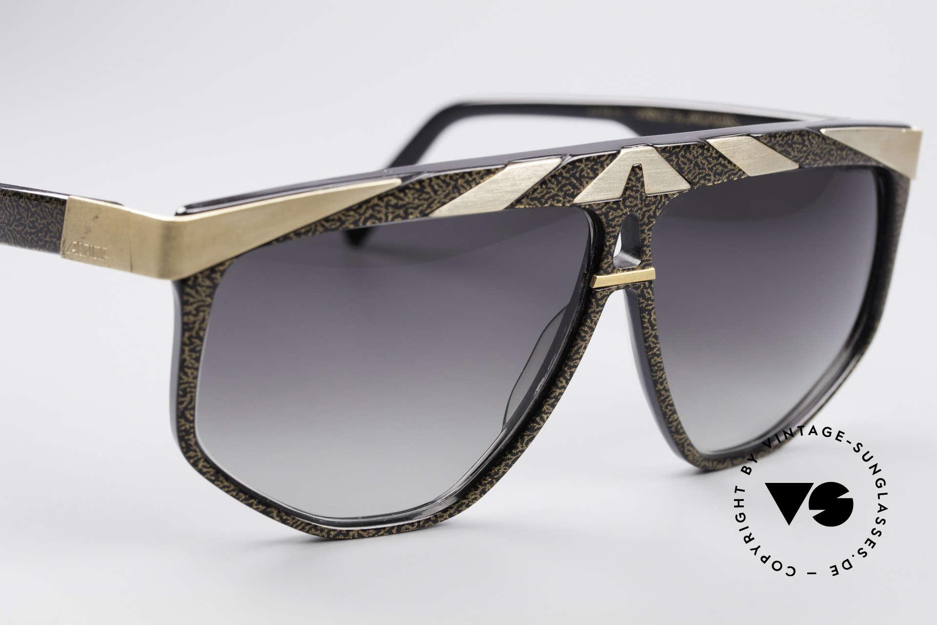 Alpina G82 Vergoldete 80er Sonnenbrille, ungetragen (wie alle unsere vintage ALPINA Brillen), Passend für Herren und Damen