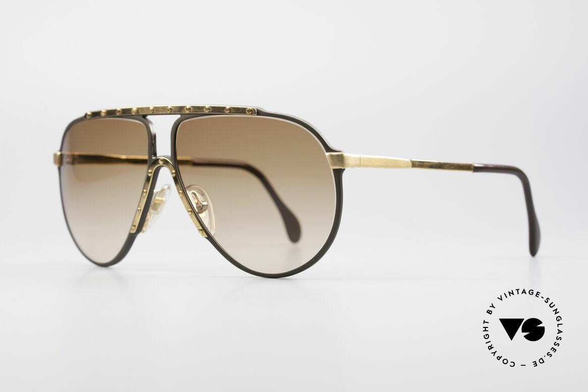 Alpina M1 West Germany Sonnenbrille, Top-Qualität (Handarbeit; made in W.Germany), Passend für Herren und Damen