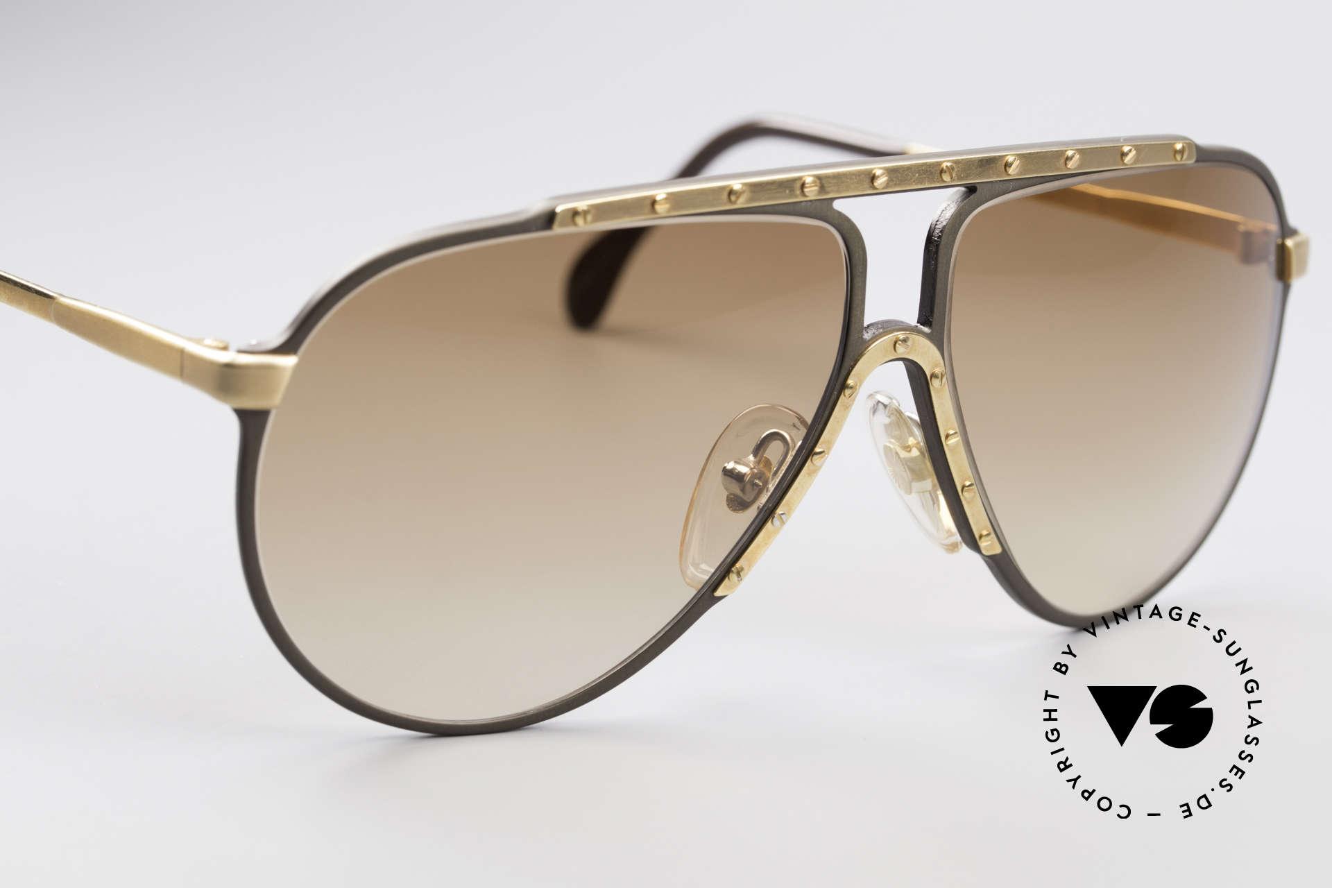Alpina M1 West Germany Sonnenbrille, eine der meistgesuchten vintage Sonnenbrillen, Passend für Herren und Damen