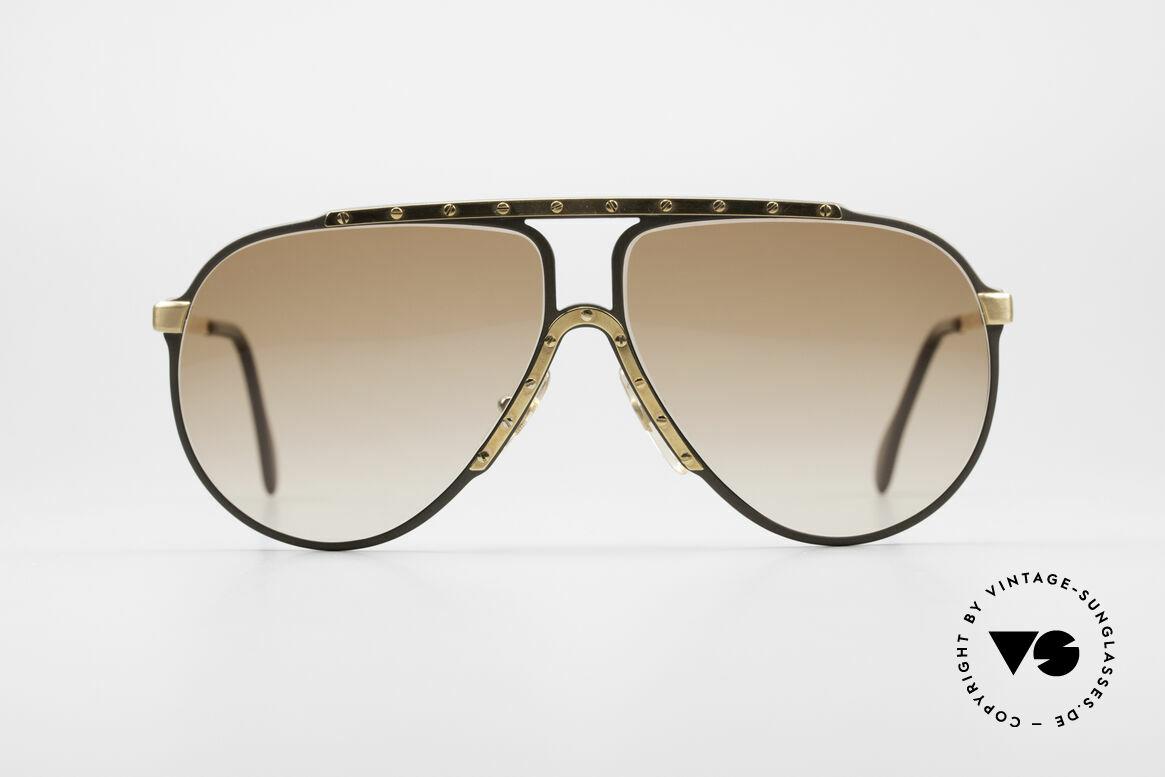 Alpina M1 West Germany Sonnenbrille, die Kultsonnenbrille der 80er Jahre schlechthin, Passend für Herren und Damen
