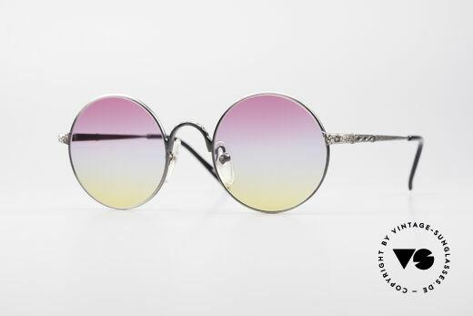 Jean Paul Gaultier 55-9671 Runde Designer Sonnenbrille Details
