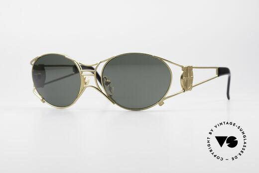 Jean Paul Gaultier 58-6101 90er Steampunk Sonnenbrille Details