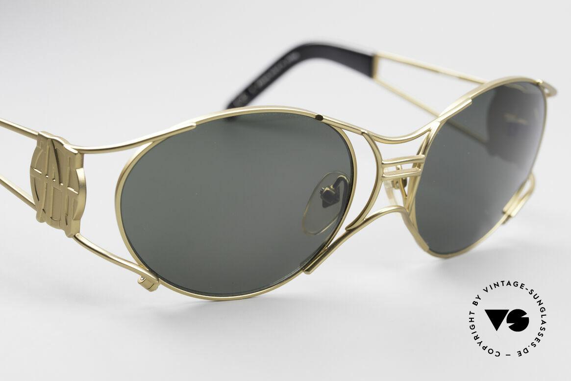 Jean Paul Gaultier 58-6101 90er Steampunk Sonnenbrille, ungetragenes Original (Hingucker & Sammlerstück), Passend für Herren und Damen