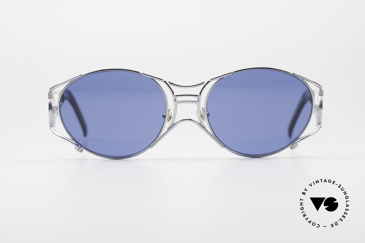 Jean Paul Gaultier 58-6101 JPG Steampunk Sonnenbrille, mechanisches JPG Industrie-Design von 1997/1998, Passend für Herren und Damen