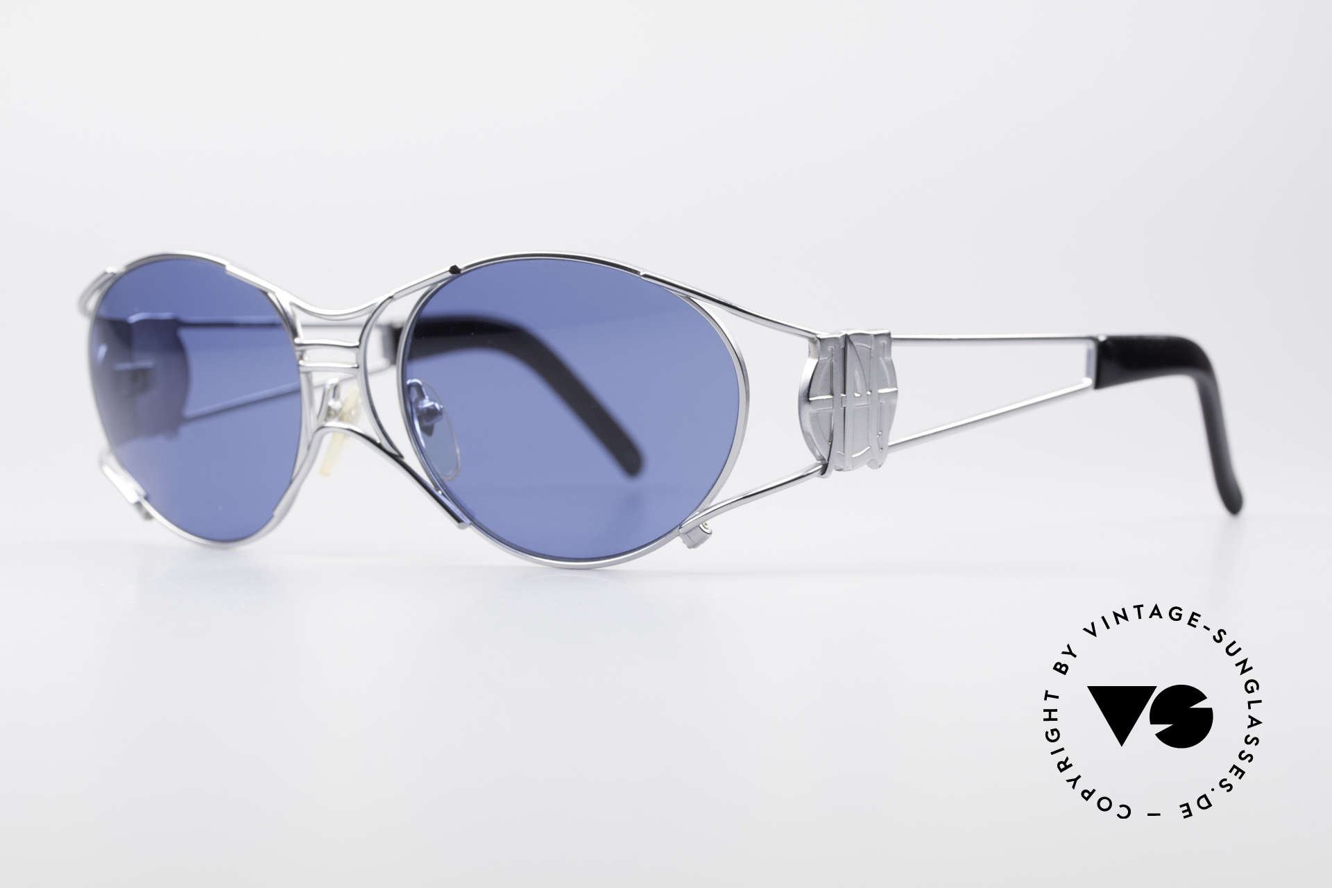 """Jean Paul Gaultier 58-6101 JPG Steampunk Sonnenbrille, daher häufig auch als """"Steampunk Brille"""" bezeichnet, Passend für Herren und Damen"""