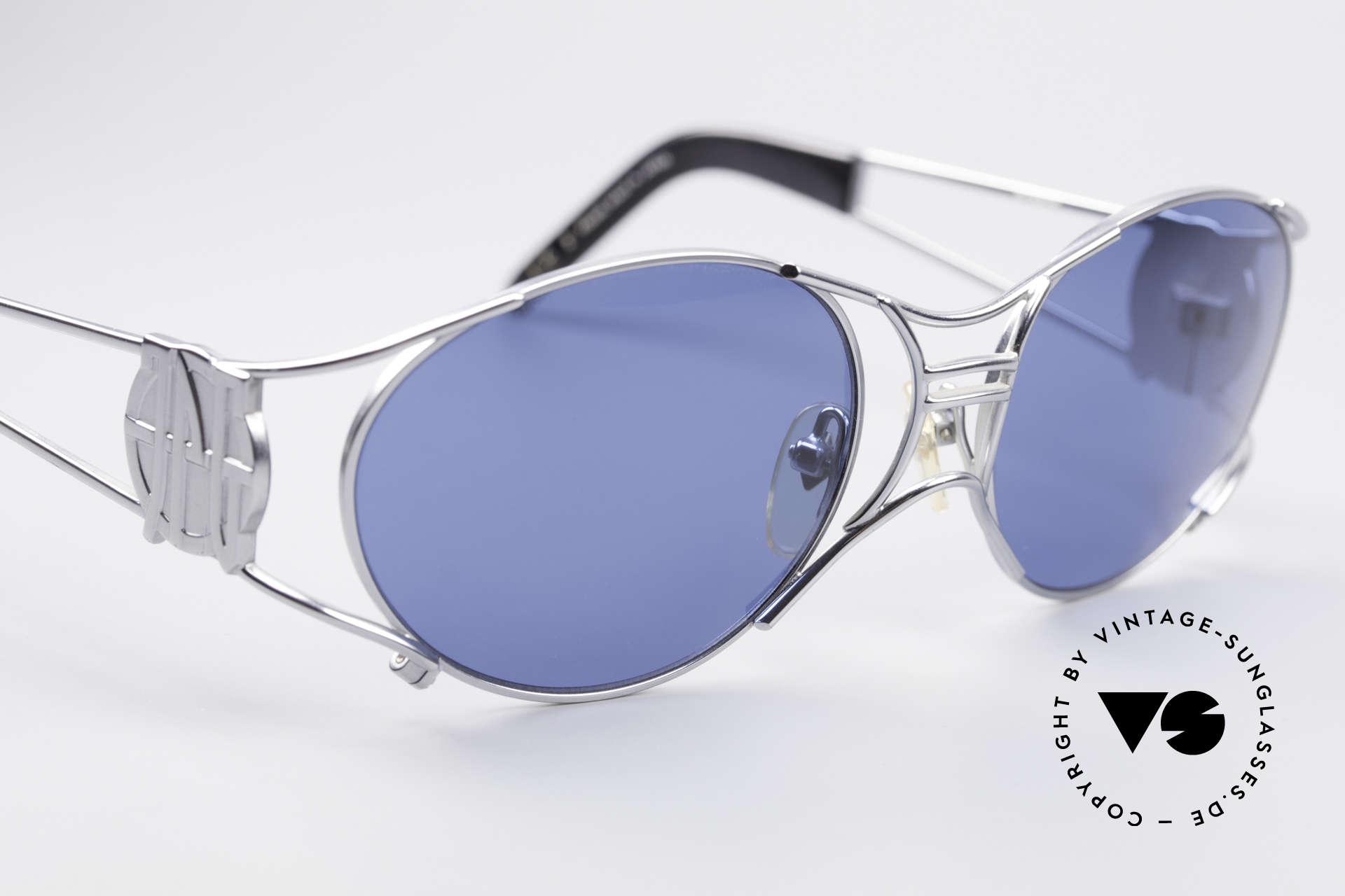Jean Paul Gaultier 58-6101 JPG Steampunk Sonnenbrille, ungetragenes Original (Hingucker & Sammlerstück), Passend für Herren und Damen