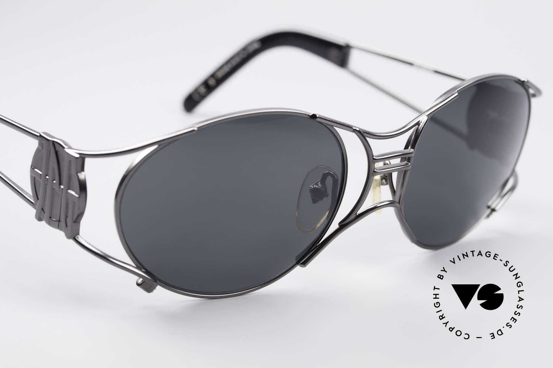 Jean Paul Gaultier 58-6101 Steampunk 90er Sonnenbrille, ungetragenes Original (Hingucker & Sammlerstück), Passend für Herren und Damen