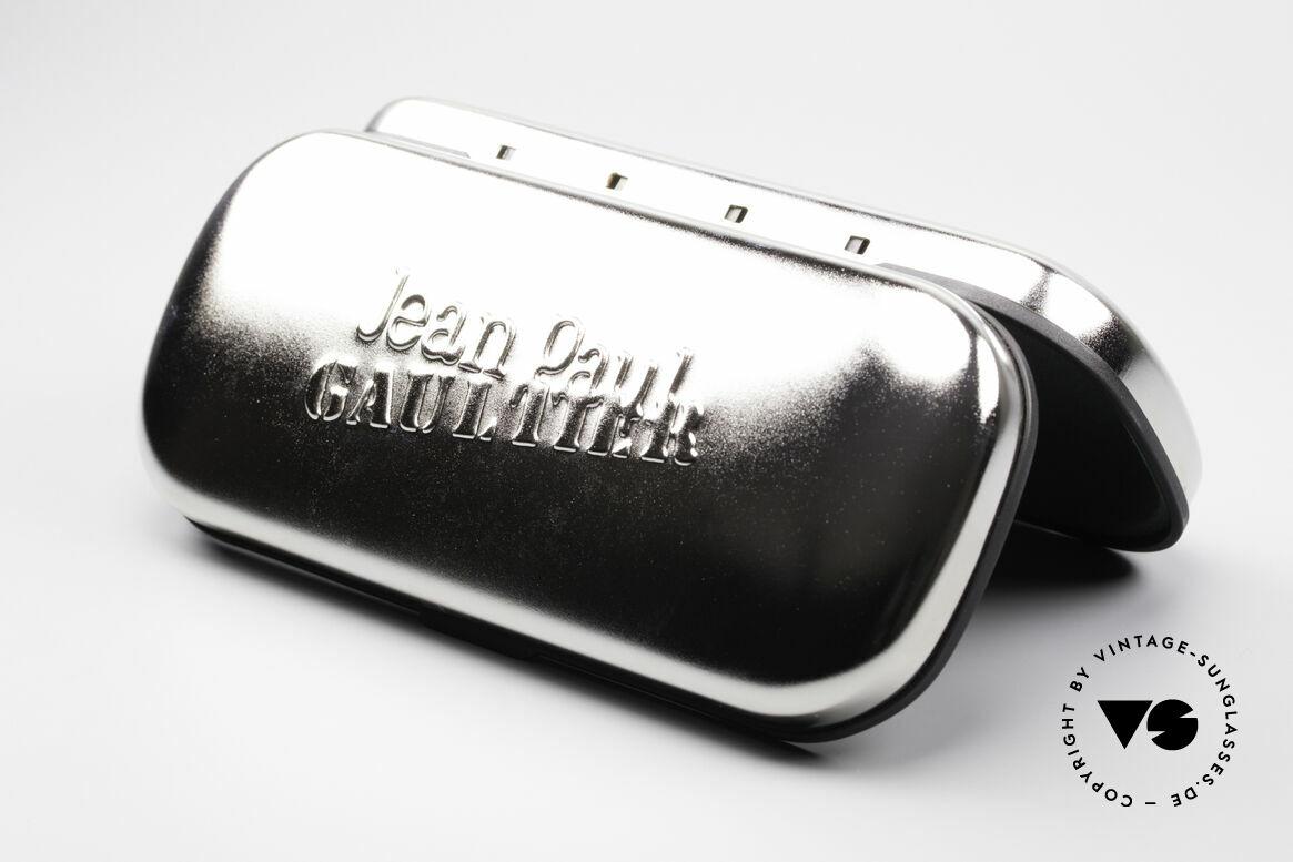 Jean Paul Gaultier 58-6101 Steampunk 90er Sonnenbrille, Größe: medium, Passend für Herren und Damen