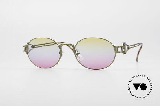 Jean Paul Gaultier 55-5110 Steampunk Designer Brille Details