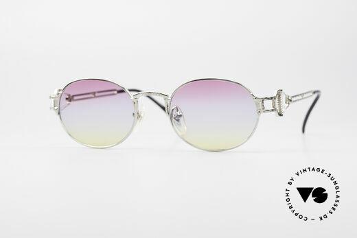 Jean Paul Gaultier 55-5110 Steampunk Vintage Brille Details