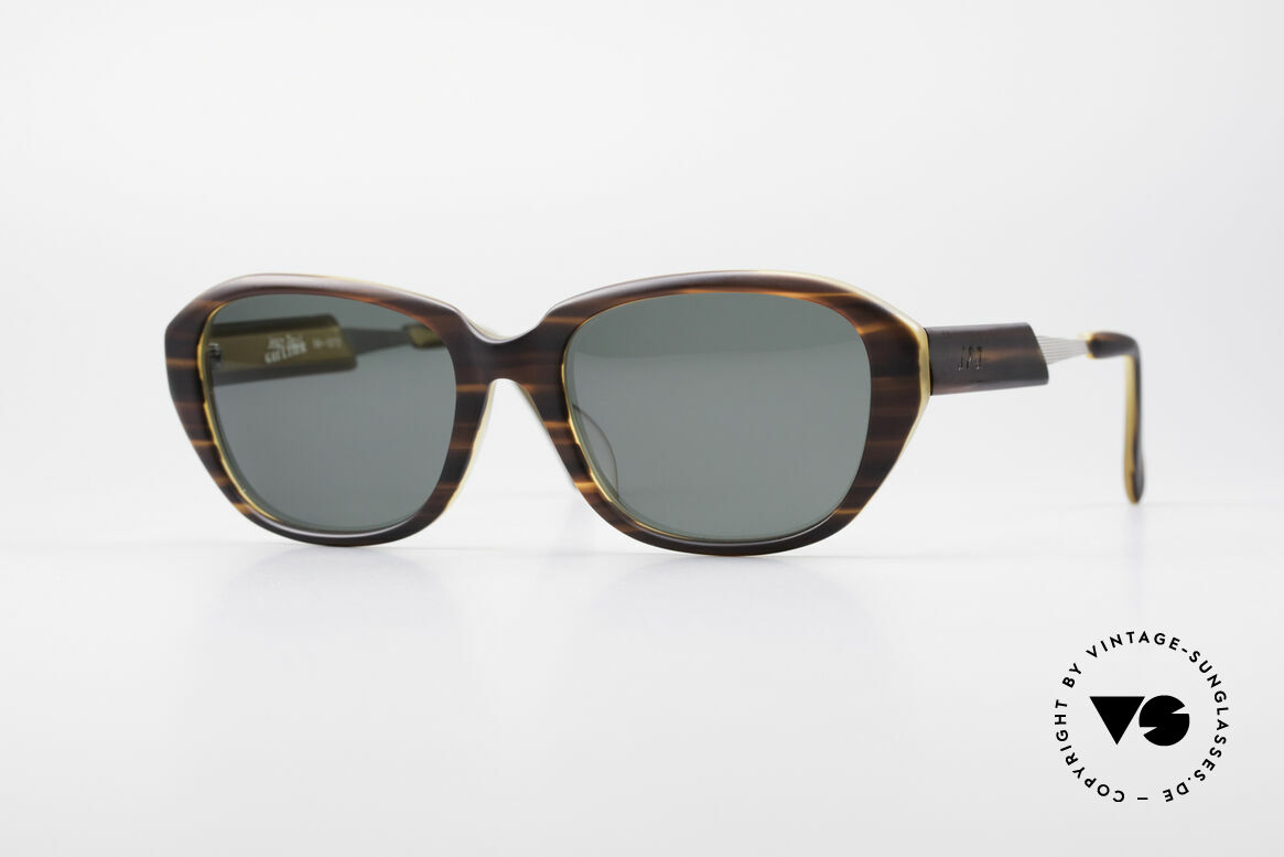 Jean Paul Gaultier 56-1072 90er Designer Sonnenbrille, 90er Jahre Jean Paul Gaultier Designersonnenbrille, Passend für Herren und Damen