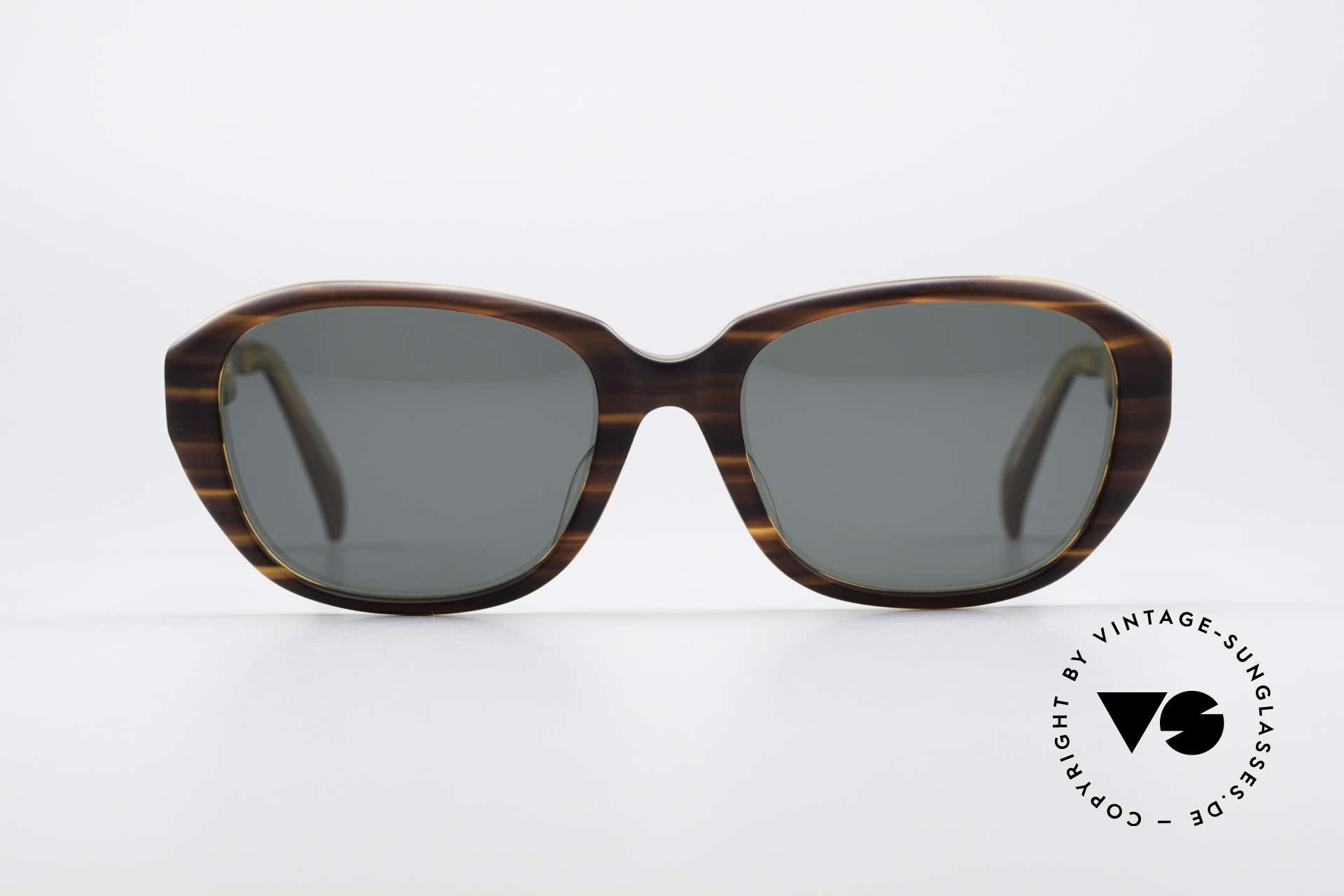 Jean Paul Gaultier 56-1072 90er Designer Sonnenbrille, tolle Material- und Farbkombinationen; Hingucker!, Passend für Herren und Damen