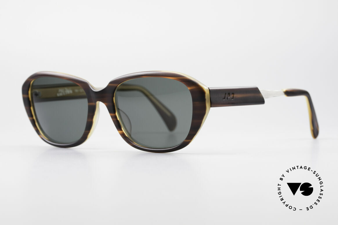 Jean Paul Gaultier 56-1072 90er Designer Sonnenbrille, fühlbare Gaultier Spitzen-Qualität (made in Japan), Passend für Herren und Damen