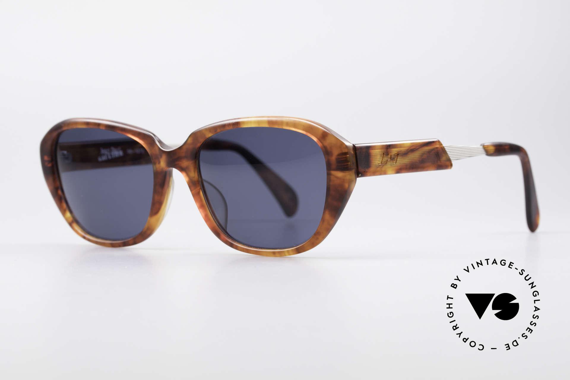 Jean Paul Gaultier 56-1072 JPG Designer Sonnenbrille, fühlbare Gaultier Spitzen-Qualität (made in Japan), Passend für Herren und Damen