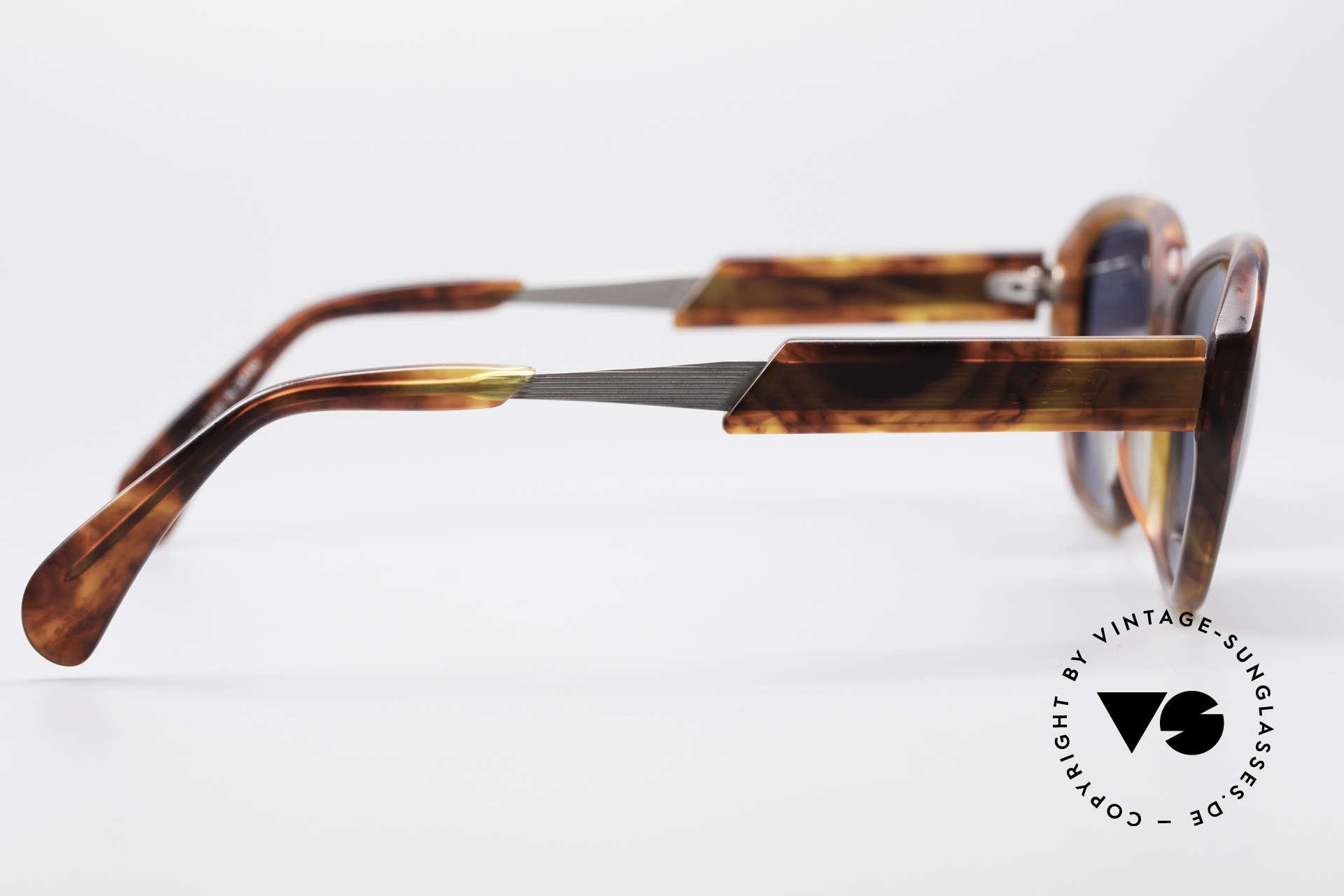 Jean Paul Gaultier 56-1072 JPG Designer Sonnenbrille, die Sonnengläser können ggf. beliebig ersetzt werden, Passend für Herren und Damen
