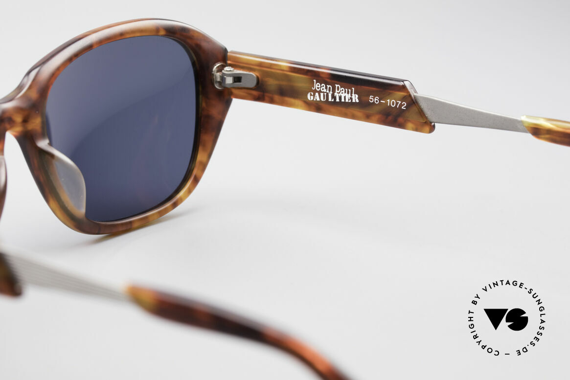 Jean Paul Gaultier 56-1072 JPG Designer Sonnenbrille, Größe: medium, Passend für Herren und Damen