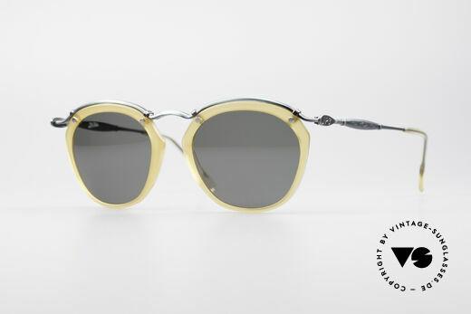 Jean Paul Gaultier 56-1273 Panto Style Sonnenbrille Details