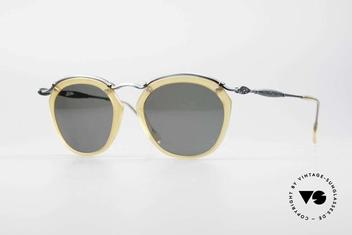 Jean Paul Gaultier 56-1273 Panto Style Sonnenbrille, edle vintage Sonnenbrille von Jean Paul GAULTIER, Passend für Herren und Damen