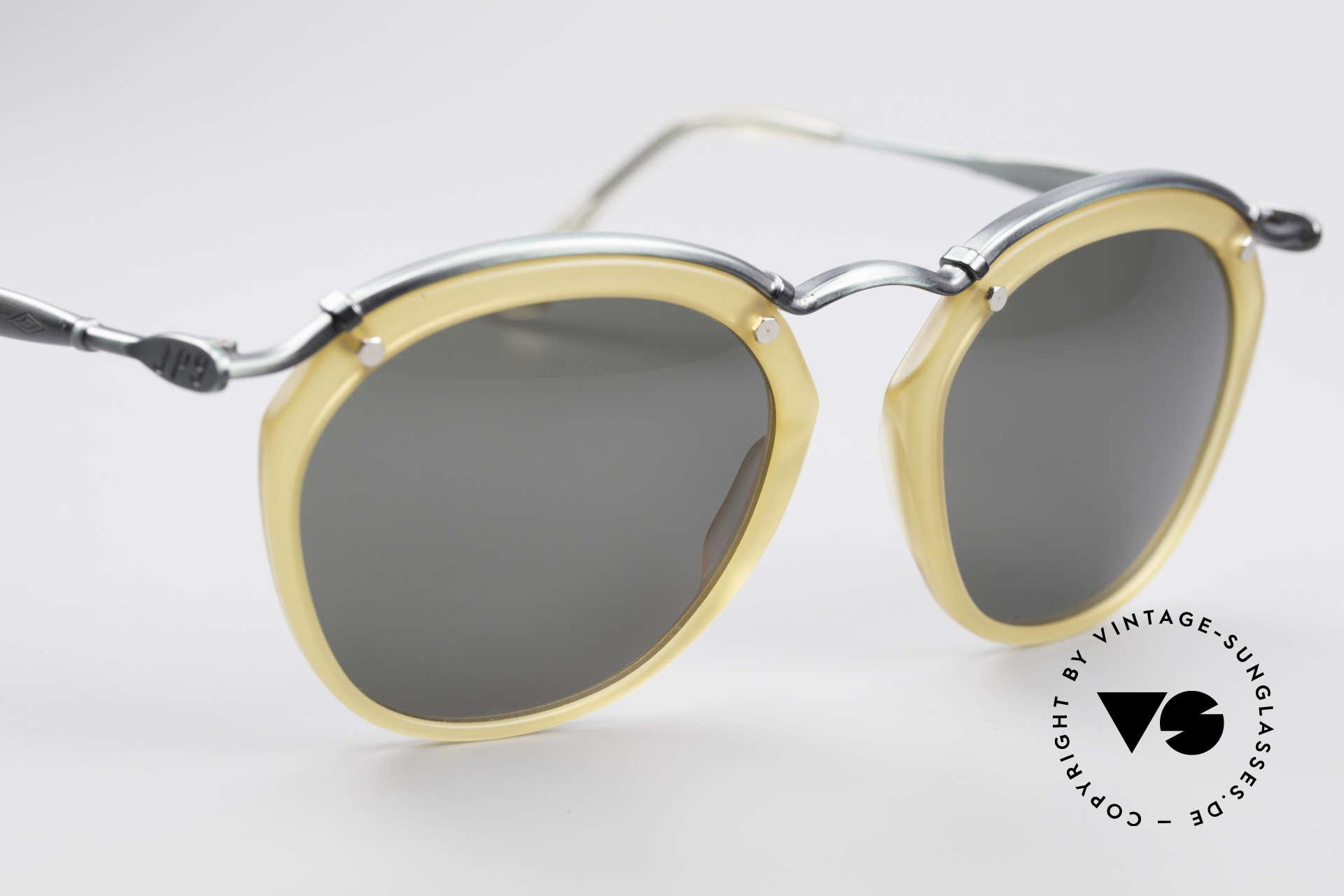 Jean Paul Gaultier 56-1273 Panto Style Sonnenbrille, ungetragen (wie alle unsere vintage J.P.G. Brillen), Passend für Herren und Damen