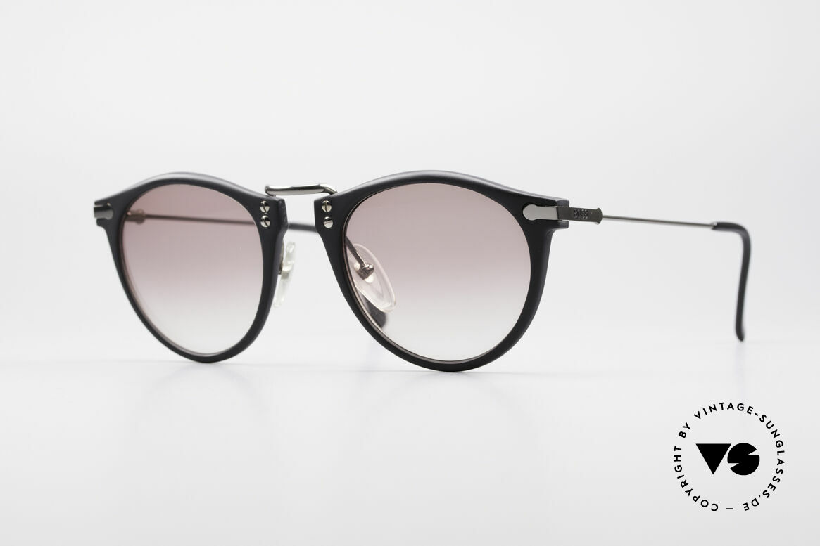 BOSS 5152 - L 90er Panto Sonnenbrille Large, klassische vintage Designer-Sonnenbrille von BOSS, Passend für Herren