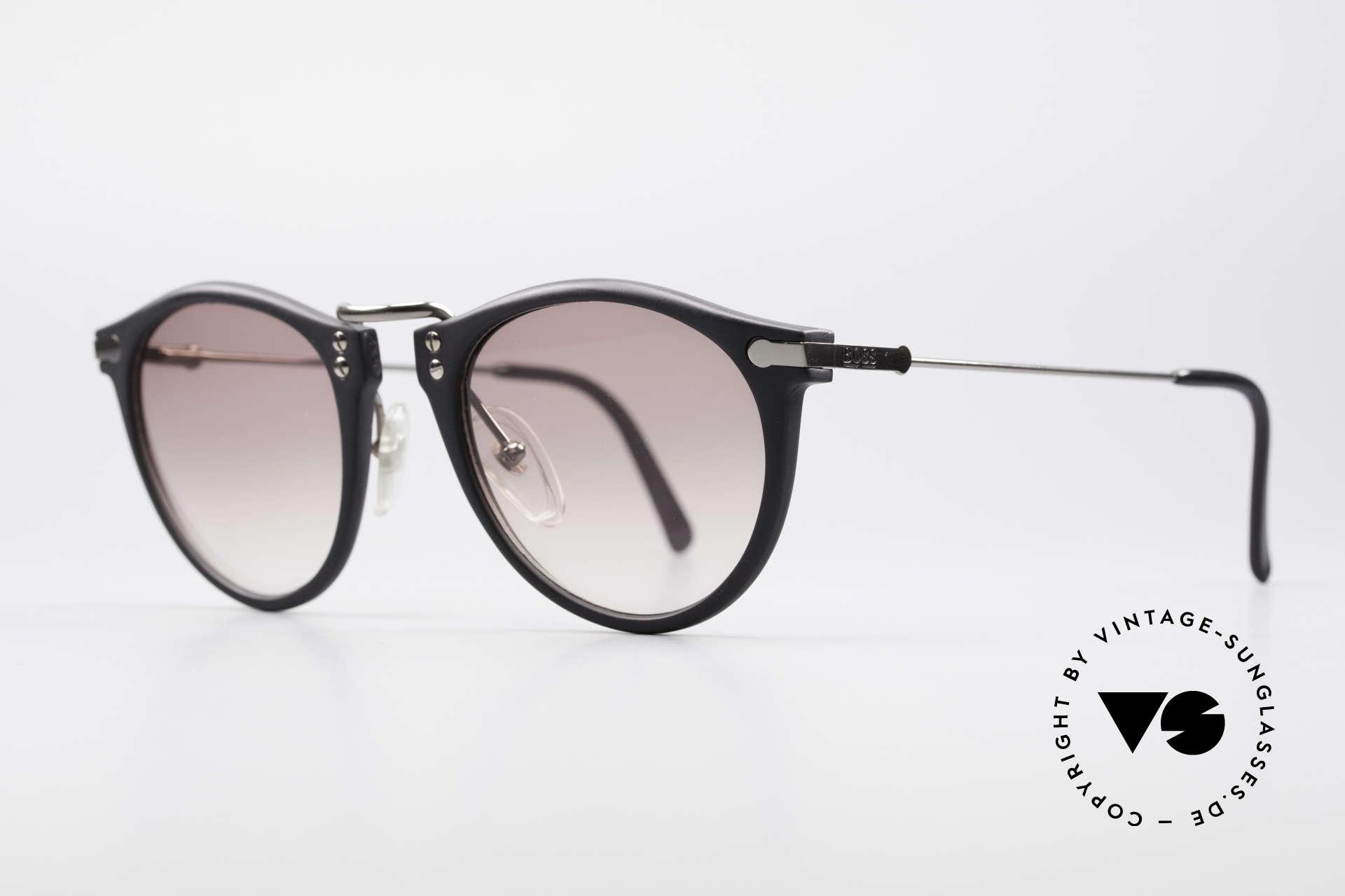 BOSS 5152 - L 90er Panto Sonnenbrille Large, aus damaliger Kooperation zwischen BOSS & Carrera, Passend für Herren