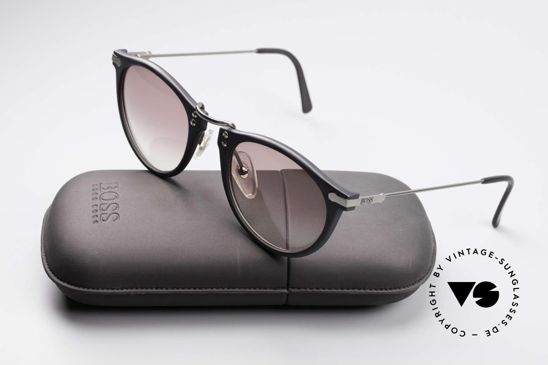 BOSS 5152 - L 90er Panto Sonnenbrille Large, KEINE Retrobrille; ein DesignKlassiker in Large 52/22, Passend für Herren