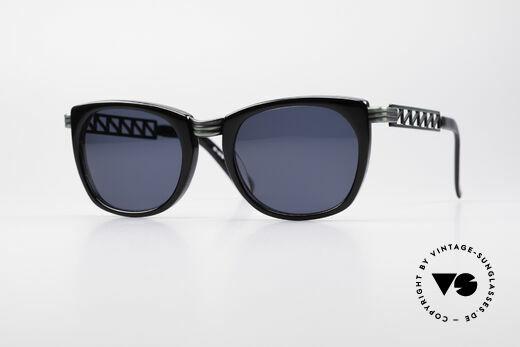 Jean Paul Gaultier 56-0272 Steampunk 90er Sonnenbrille Details