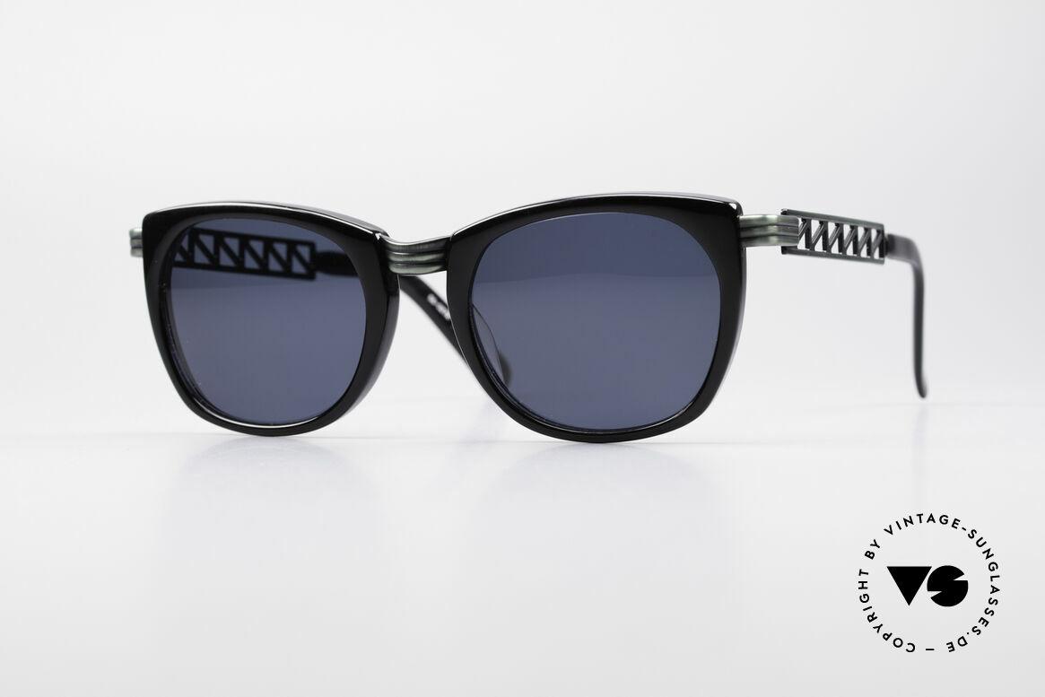 Jean Paul Gaultier 56-0272 Steampunk 90er Sonnenbrille, vintage Designersonnenbrille von J.P. Gaultier, Passend für Herren und Damen