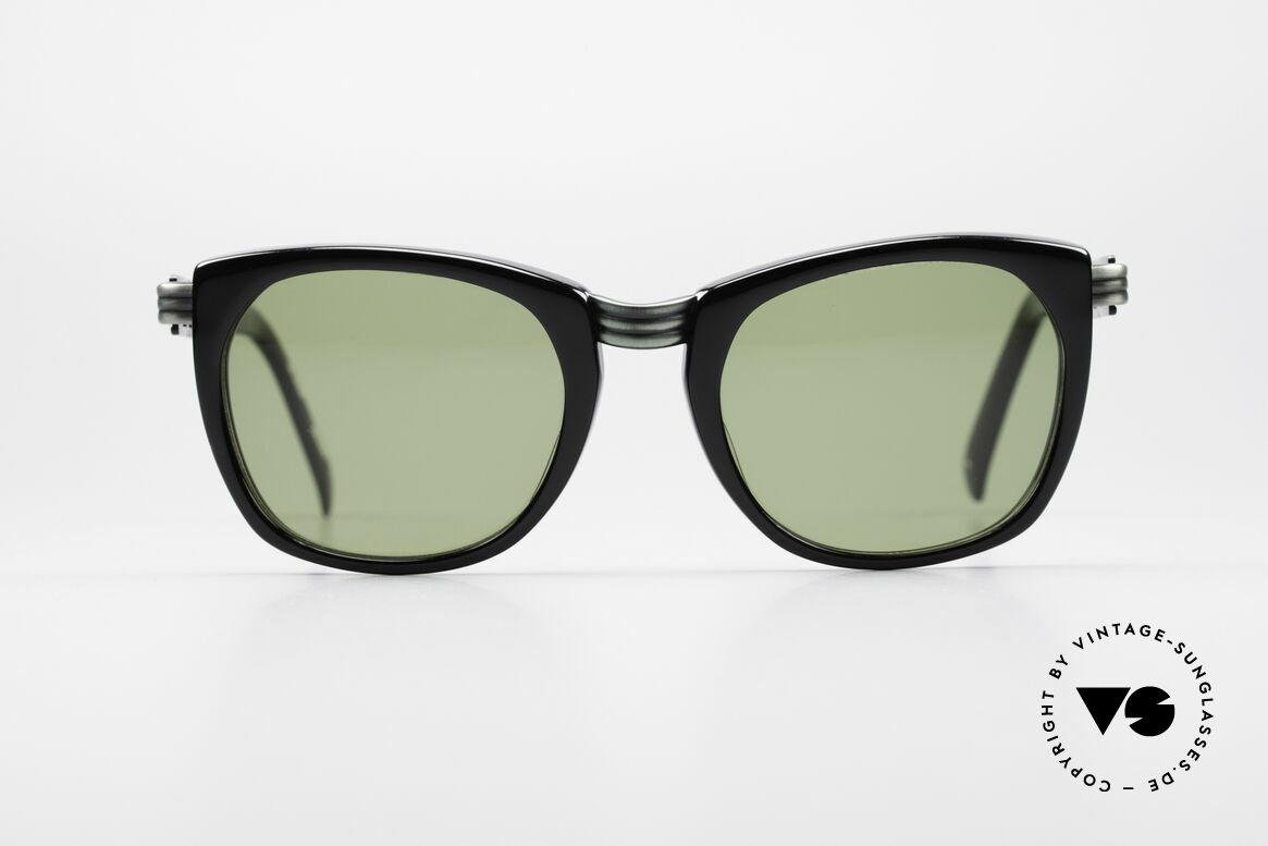 Jean Paul Gaultier 56-0272 90er Steampunk Sonnenbrille, markante Rahmengestaltung 'Steampunk Stil', Passend für Herren und Damen