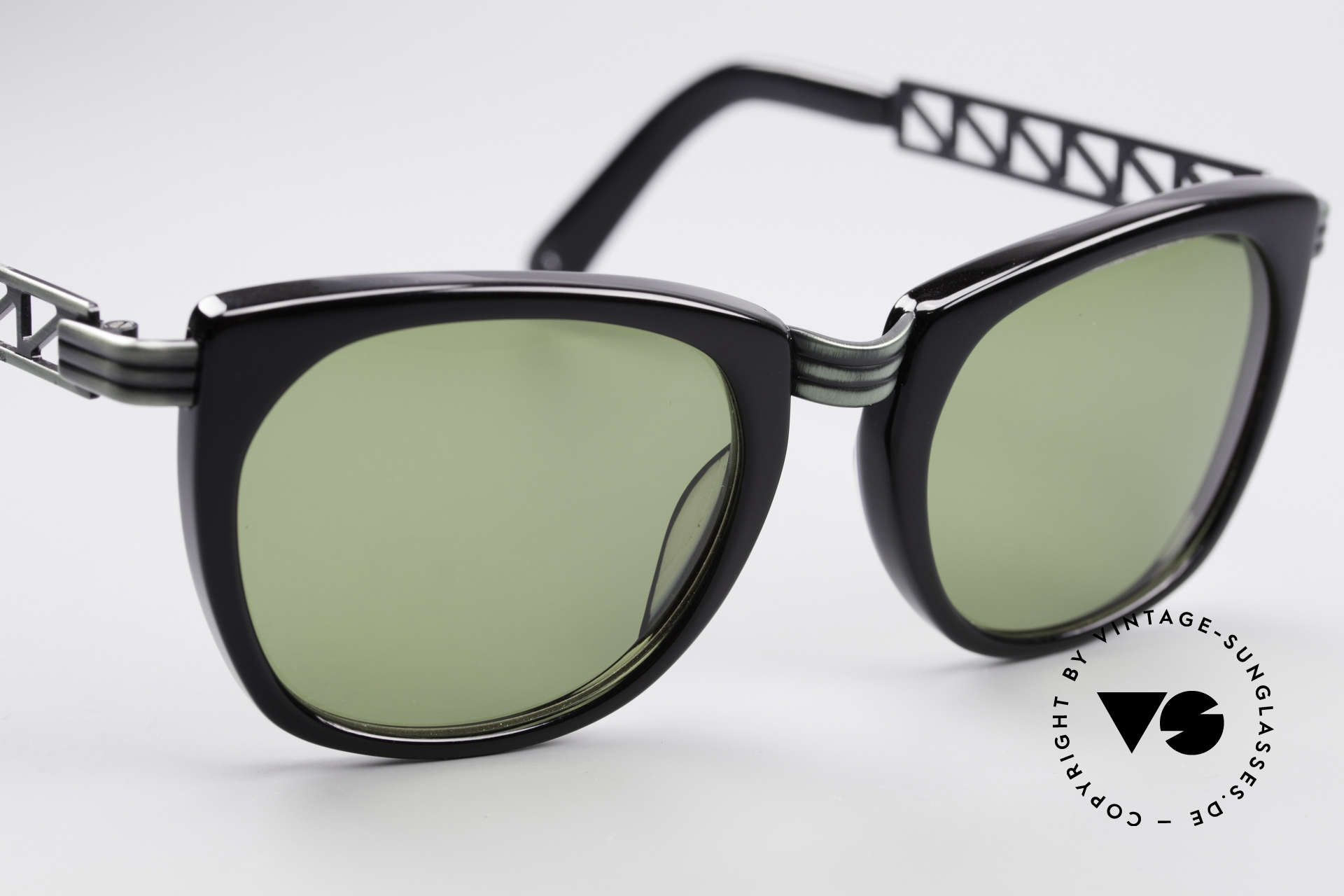 Jean Paul Gaultier 56-0272 90er Steampunk Sonnenbrille, KEINE Retrosonnenbrille, sondern 20 Jahre alt, Passend für Herren und Damen