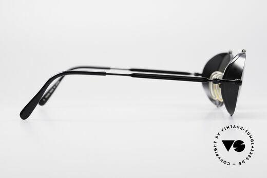 Jean Paul Gaultier 56-1175 Seitenscheiben Sonnenbrille, KEINE Retrobrille, sondern ein ca. 25 Jahre altes Unikat, Passend für Herren und Damen