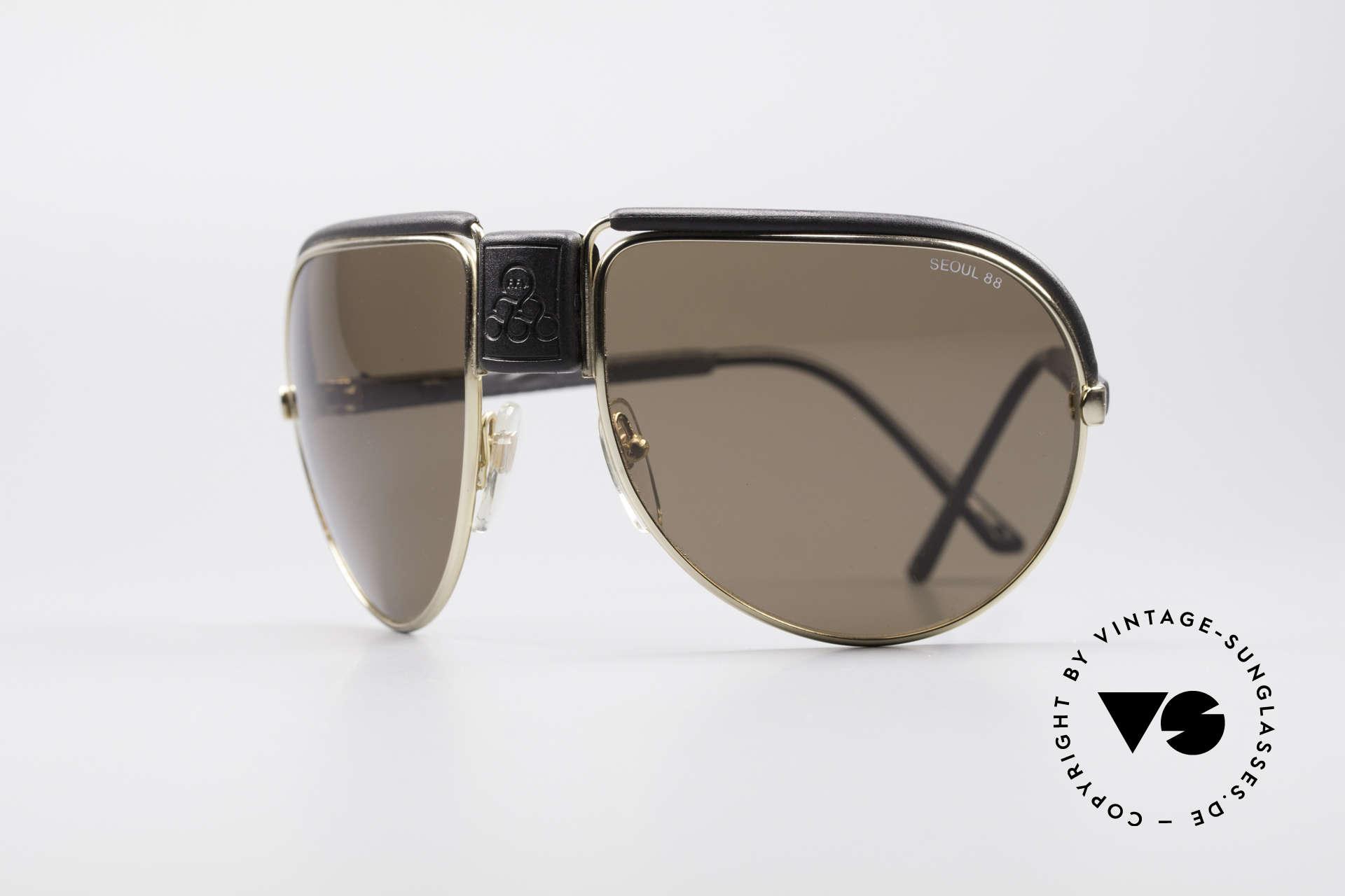 Cebe Seoul 88 Olympische Spiele Brille, Cebe vintage Sonnenbrille für den sportlichen Gebrauch, Passend für Herren