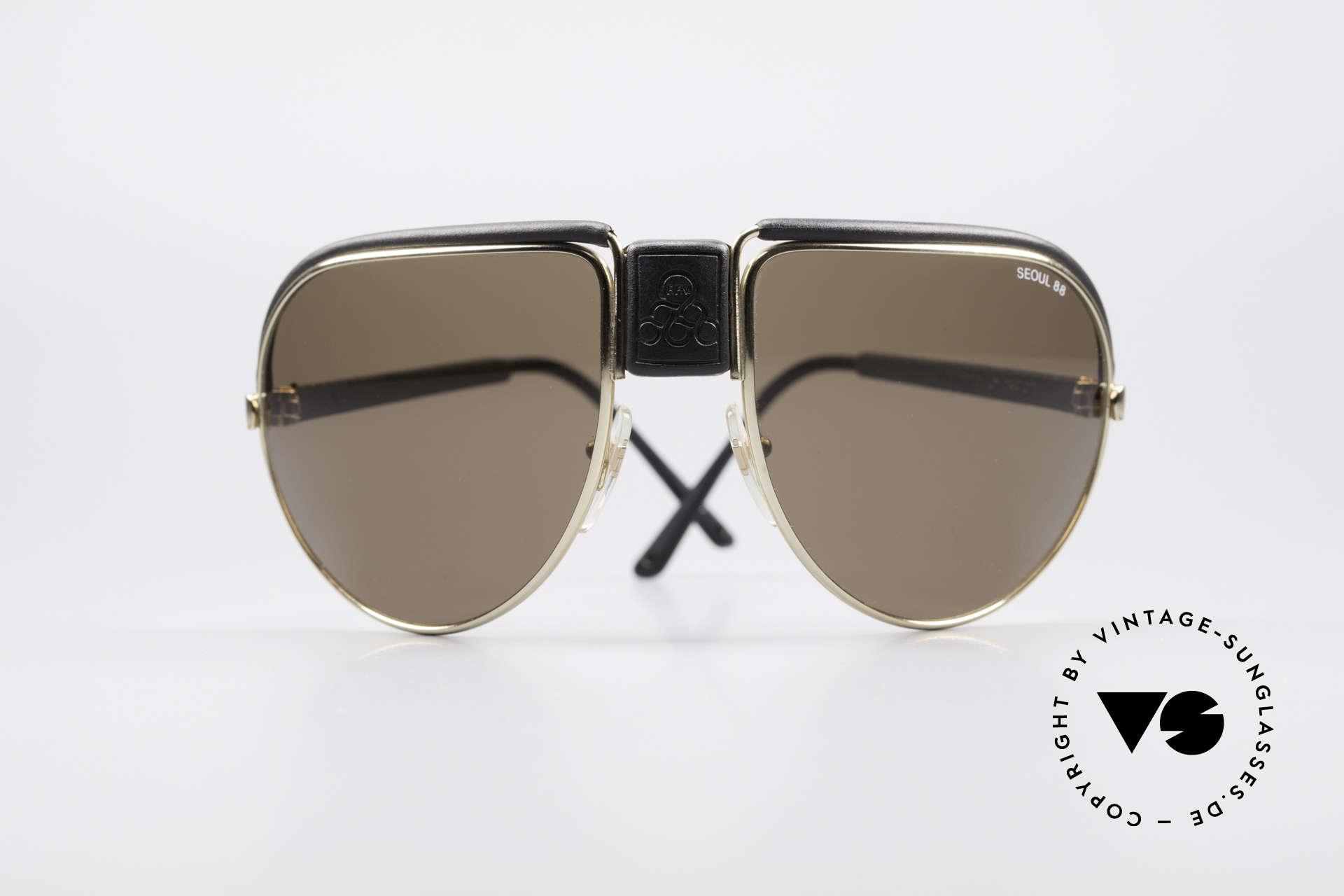 Cebe Seoul 88 Olympische Spiele Brille, eigens für die Olympischen Spiele 1988 in Seoul gefertigt, Passend für Herren
