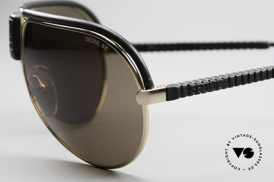 Cebe Seoul 88 Olympische Spiele Brille, flexible (Cebe-Flex) Rahmenkonstruktion für idealen Halt, Passend für Herren
