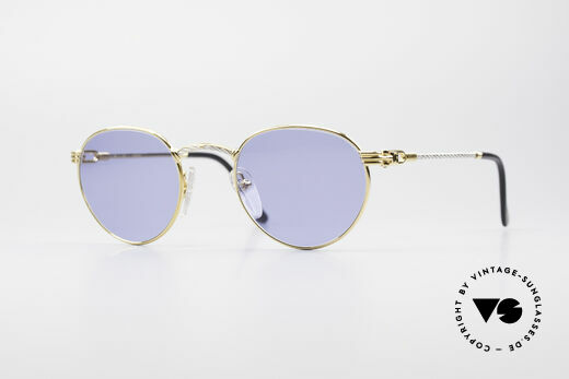Fred Ouragan Luxus Panto Sonnenbrille Details