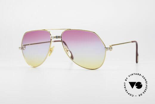 Cartier Vendome Santos - M Rare Aviator Sonnenbrille Details