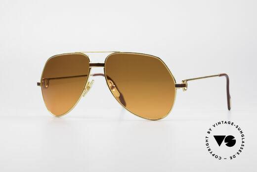 Cartier Vendome Laque - L Luxus 80er Sonnenbrille Details