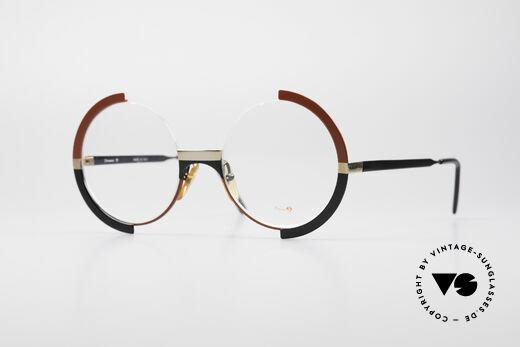 Casanova FC4 Kunstvolle Vintage Brille Details