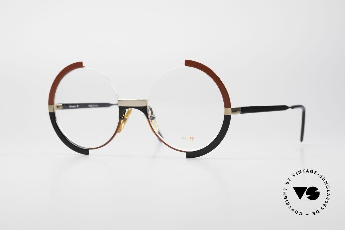 Casanova FC4 Kunstvolle Vintage Brille, fantastische Casanova Vintage Brille von ca. 1985, Passend für Damen