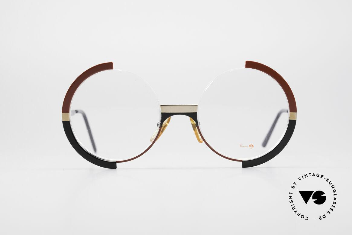 Casanova FC4 Kunstvolle Vintage Brille, großartiges Zusammenspiel aus Farben und Form, Passend für Damen