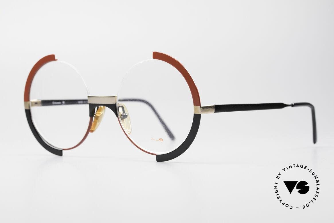 Casanova FC4 Kunstvolle Vintage Brille, ein Hingucker & absolutes Highlight für Sammler, Passend für Damen